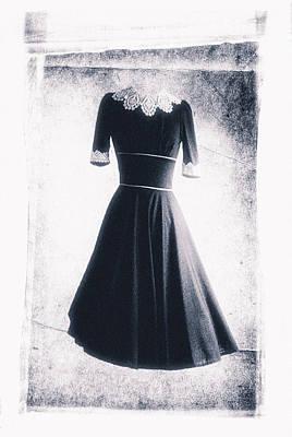 1950s Dress Print by David Ridley