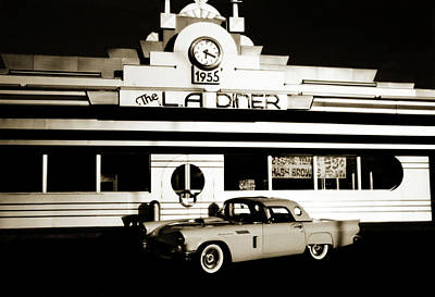 Old Car Photograph - 1950s Revisited by Marilyn Hunt