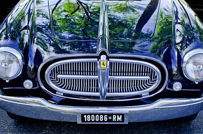 Front End Photograph - 1952 Ferrari 212 Vignale Front End by Jill Reger