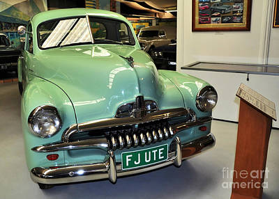 1953 Fj Holden Ute Print by Kaye Menner