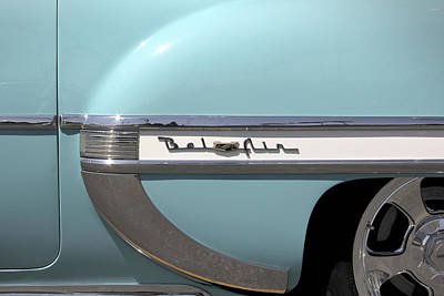 Street Rod Photograph - 1954 Chevy Belair by Mike McGlothlen