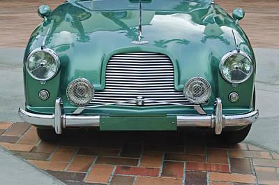 1955 Aston Martin Print by Jill Reger