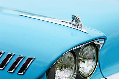 1958 Chevrolet Impala Fender Spear Print by Jill Reger
