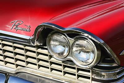 1957 Movies Digital Art - 1959 Plymouth Sport Fury  by Gordon Dean II