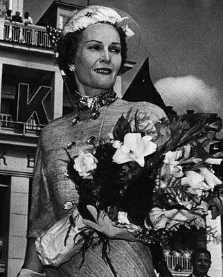1959 Us Presidency.  Second Lady Print by Everett