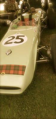 Lotus Racecar Photograph - 1960 Lotus Climax 18 by John Colley