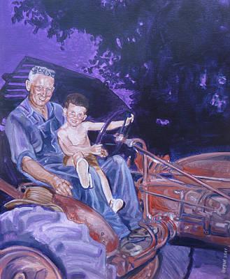 Granddaddy Painting - 1962 by Bryan Bustard