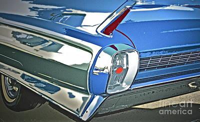 1962 Cadillac El Dorado Print by Gwyn Newcombe
