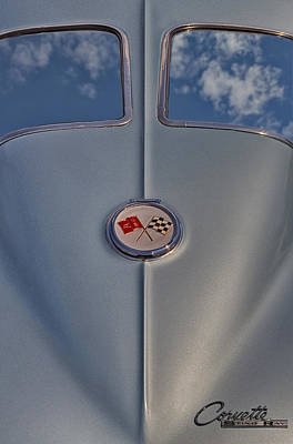 Classic Photograph - 1963 Corvette Sting Ray by Susan Candelario