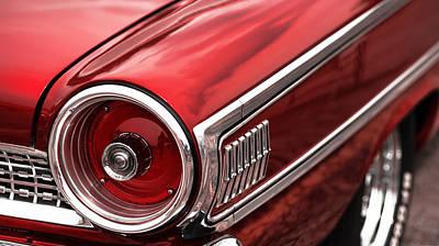 1963 Ford Galaxie 500 Print by Gordon Dean II