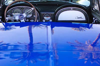 1965 Chevrolet Corvette Sting Ray Print by Jill Reger