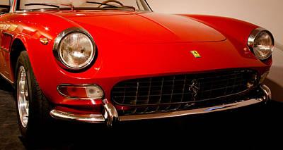 Automobile Photograph - 1966 Ferrari 275 Gts by David Patterson