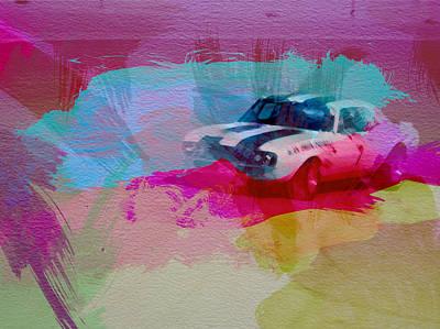 1968 Chevy Camaro Print by Naxart Studio