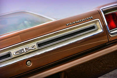 1969 Plymouth Gtx Original by Gordon Dean II