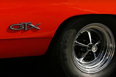 1969 Plymouth Gtx Hemi Original by Gordon Dean II