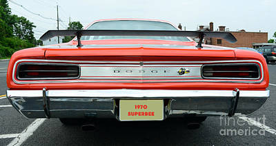 1970 Dodge Coronet Super Bee Print by Paul Ward