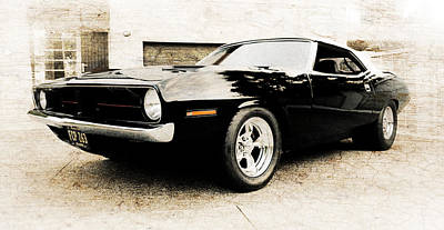 1970 Plymouth Cuda Print by Phil 'motography' Clark
