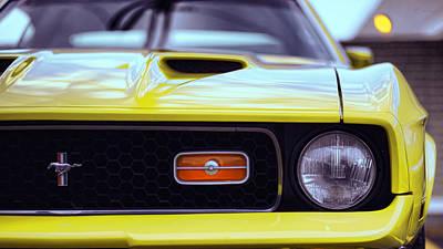 1972 Ford Mustang Mach 1 Original by Gordon Dean II