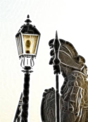 Lighting Print by Odon Czintos