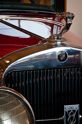Cadillac Photograph - 1929 Cadillac Series 341-b Victoria Coupe by David Patterson
