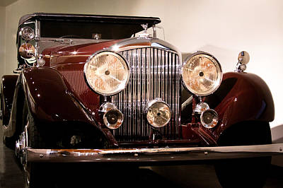 Cars Photograph - 1934 Bentley 3.5 Liter Tourer by David Patterson