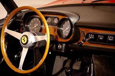 Vintage Cars Photograph - 1966 Ferrari 275 Gts by David Patterson