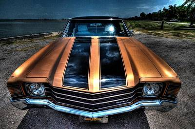 1972 Chevelle Print by David Morefield