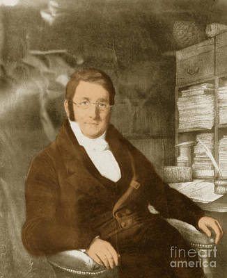 A. P. De Candolle, Swiss Botanist Print by Science Source