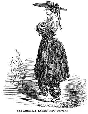 Amelia Bloomer (1818-1894) Print by Granger