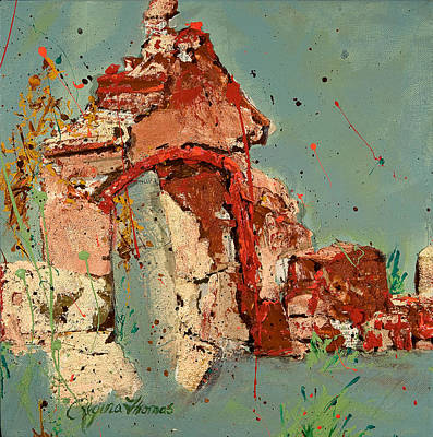 Ruins Mixed Media - Another Time by Regina Thomas