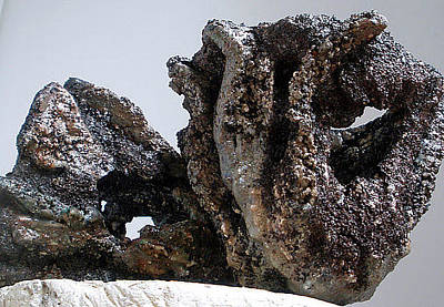 Hypertufa Photograph - Art Reef Rock Series Planter Sculpture Set Of 2 by Randy Stewart