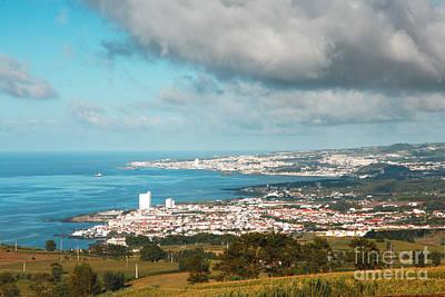 Azores Coastal Landscape Print by Gaspar Avila