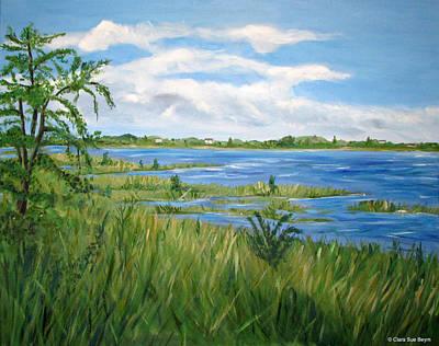 Bayville Painting - Bayville 1 by Clara Sue Beym