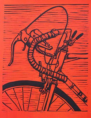 Bike 2 Original by William Cauthern