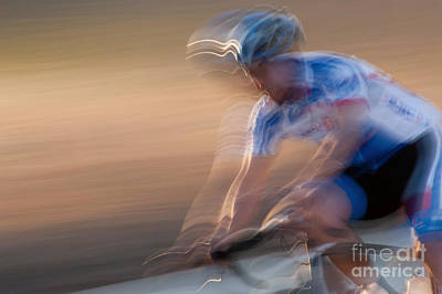 Bike Races Photograph - Bike Race 4 by Catherine Lau