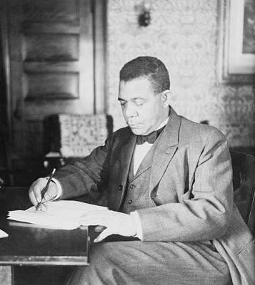 Booker T. Washington 1856-1915 Print by Everett