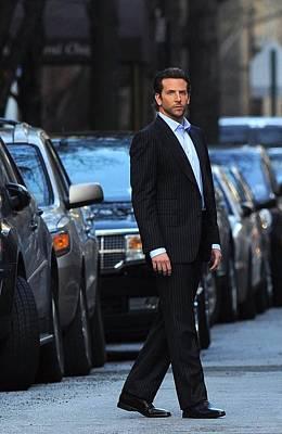 Paparazziec Photograph - Bradley Cooper On Location Film Shoot by Everett