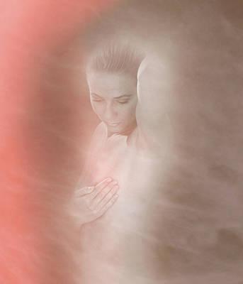Self-examination Photograph - Breast Self- Examination by Mehau Kulyk