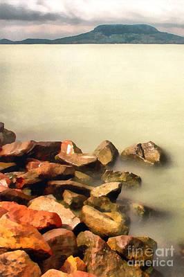 Cobwebs Painting - Calm by Odon Czintos