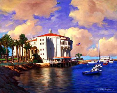 Uso Painting - Catalina Uso's by Snake Jagger