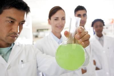 Chemists Print by