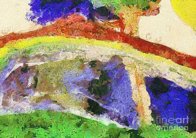 Colors Print by Odon Czintos