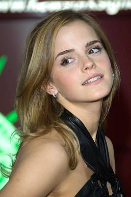Prince Harry Photograph - Emma Watson At Arrivals For Harry by Everett