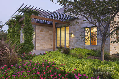 Energy Efficient Home Exterior Print by Jeremy Woodhouse