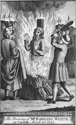 England: Burning At Stake Print by Granger
