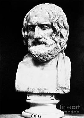 Euripides Print by Granger