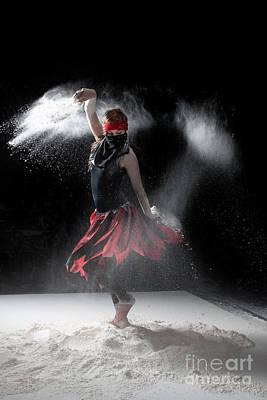 Woman Photograph - Flour Dancer Series by Cindy Singleton