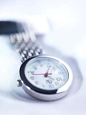 Fob Watch Print by Tek Image