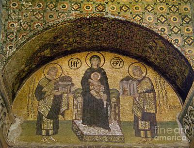 Hagia Sophia: Mosaic Print by Granger