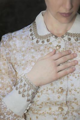 Embroidery Photograph - Hand by Joana Kruse